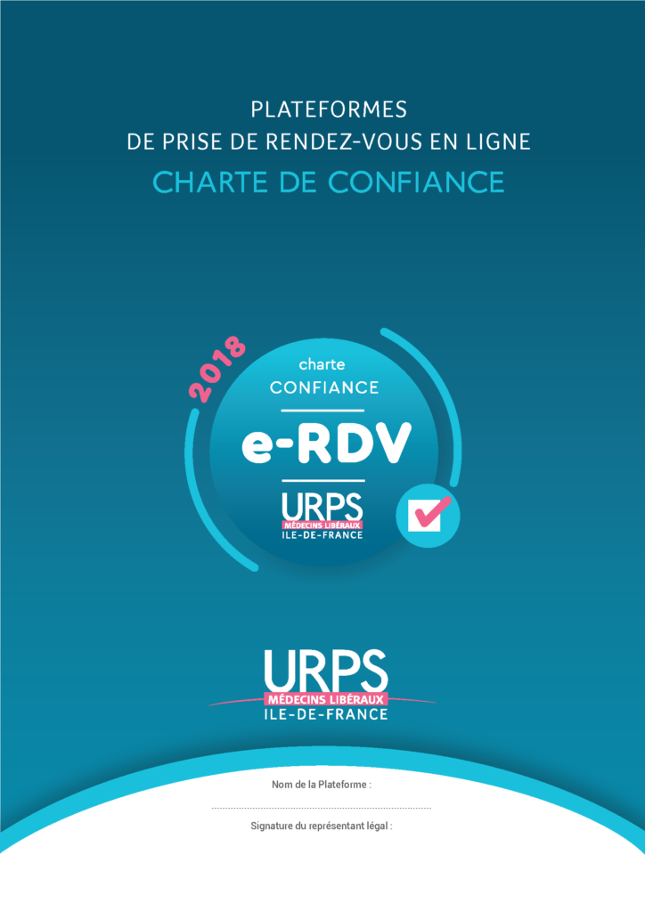 Charte e-RDV médicaux URPS