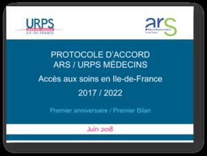 Bilan à 1 an du protocole ARS / URPS