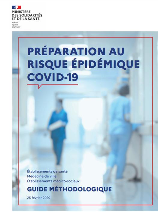 Guide Coronavirus pour professionnels de santé - 25 février 2020